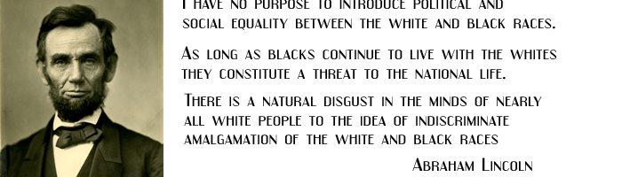 Abraham_Lincoln Racist
